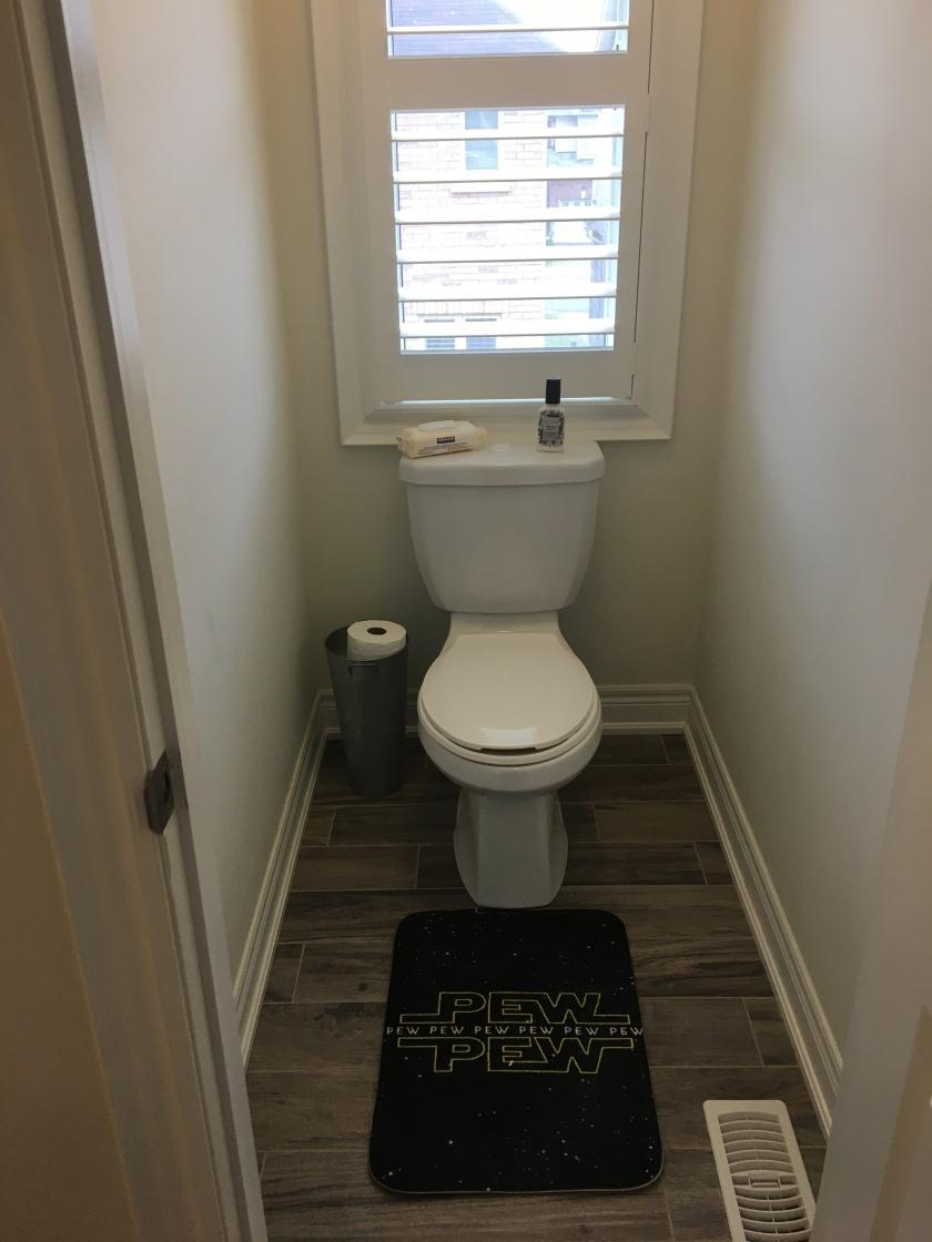 My Toilet.