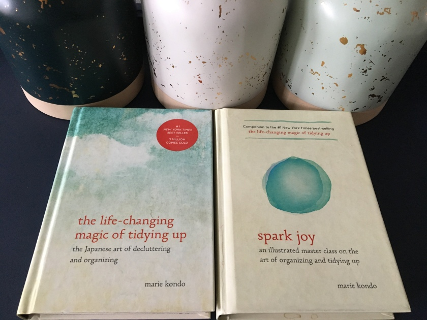 Marie Kondo's The Life-Changing Magic of Tidying up and, Spark Joy